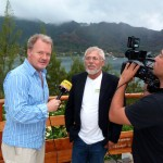 Dreh mit Frank Fastner in Polynesien